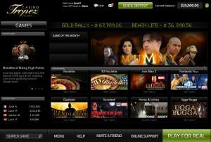 Обзор на Casino Tropez, онлайн казино, лучшие казино