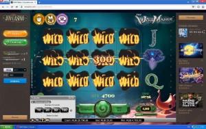 Выиграл в интернет казино, игровой автомат, отличное онлайн казино, лучшее казино, крупные выигрыши, игровой слот, WishMaster, казино JoyCasino