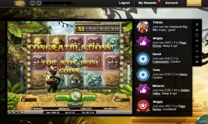 Онлайн казино, Videoslots, GonzosQuest, игровой слот, игровой автомат, выигрыш в интернет казино, лучшее казино, крупные выигрыши, лучшие слоты, выиграл в онлайн казино