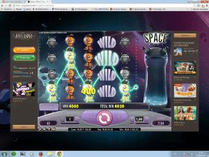 Выигрыш в онлайн казино, Крупные выигрыши, онлайн казино, JoyCasino, игровые автоматы, Space Wars, видеослоты, интернет казино