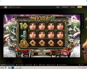 онлайн казино,medusa 2,videoslots, игровые автоматы, крупные выигрыши