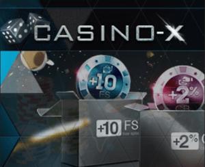 Casino-X, выигрыш в казино, игровые автоматы,Обзор интернет казино