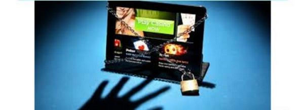 заблокированный сайт казино